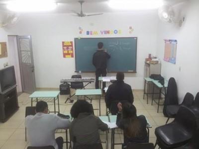 Grupo de Jovens ministra aulas de música